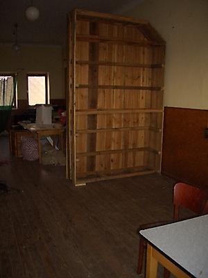 Der Alte Saal, noch mit Bühne